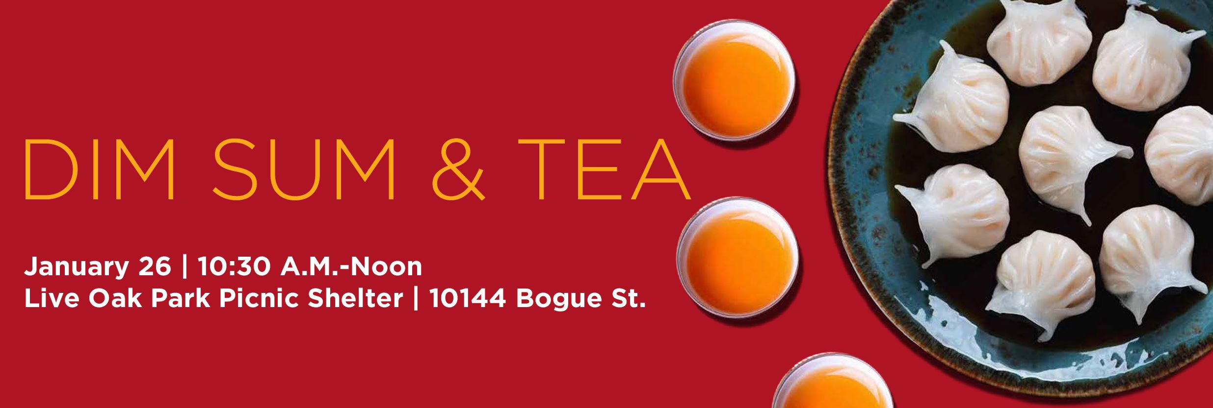 Dim Sum and Tea Web Banner
