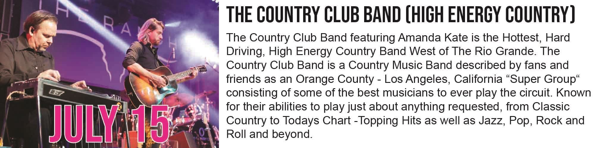 Country Club Band Graphic