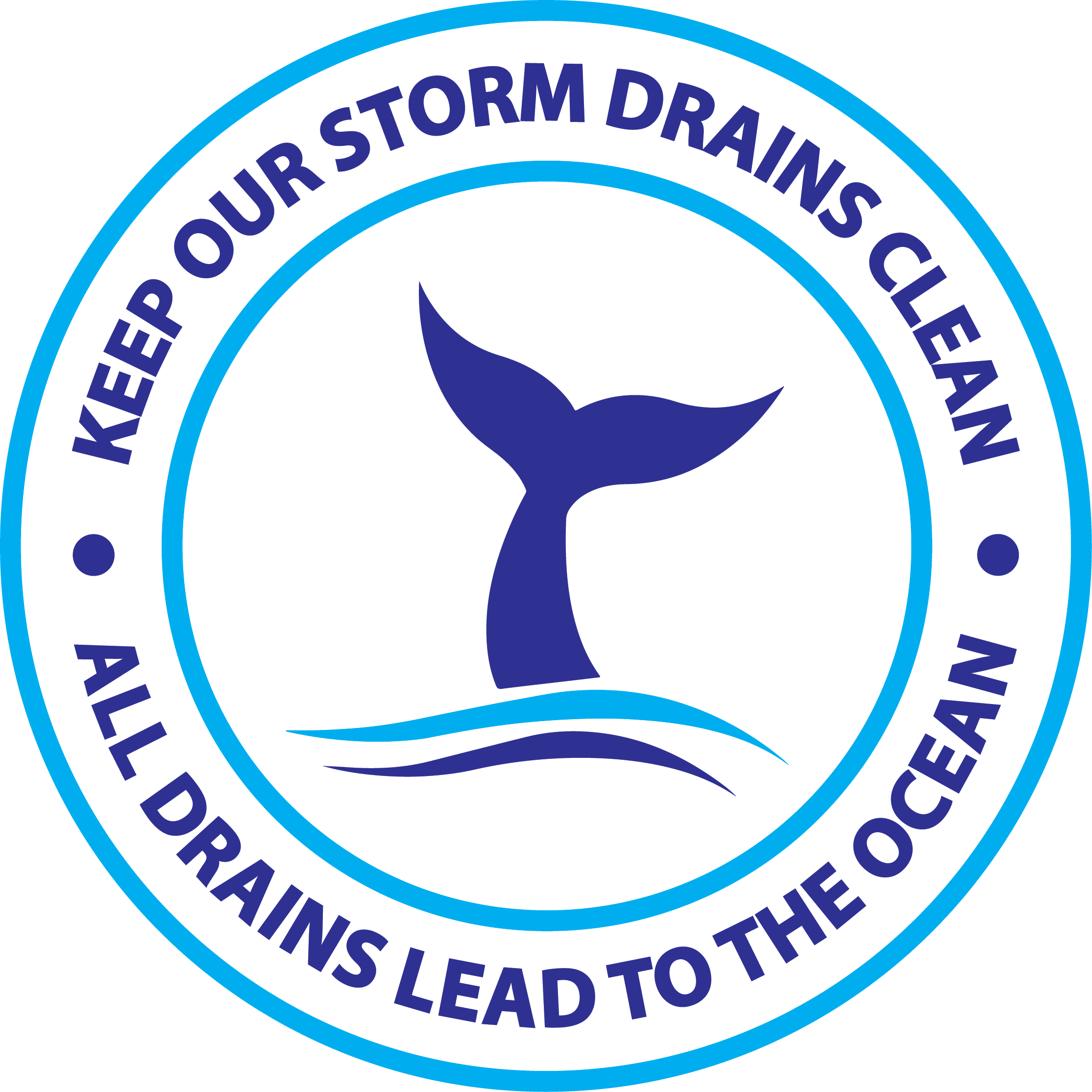 drains to ocean logo